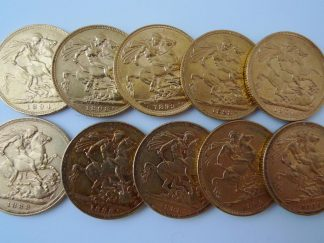 gold full sovereign coins