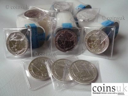 britannia uk silver bullion coins