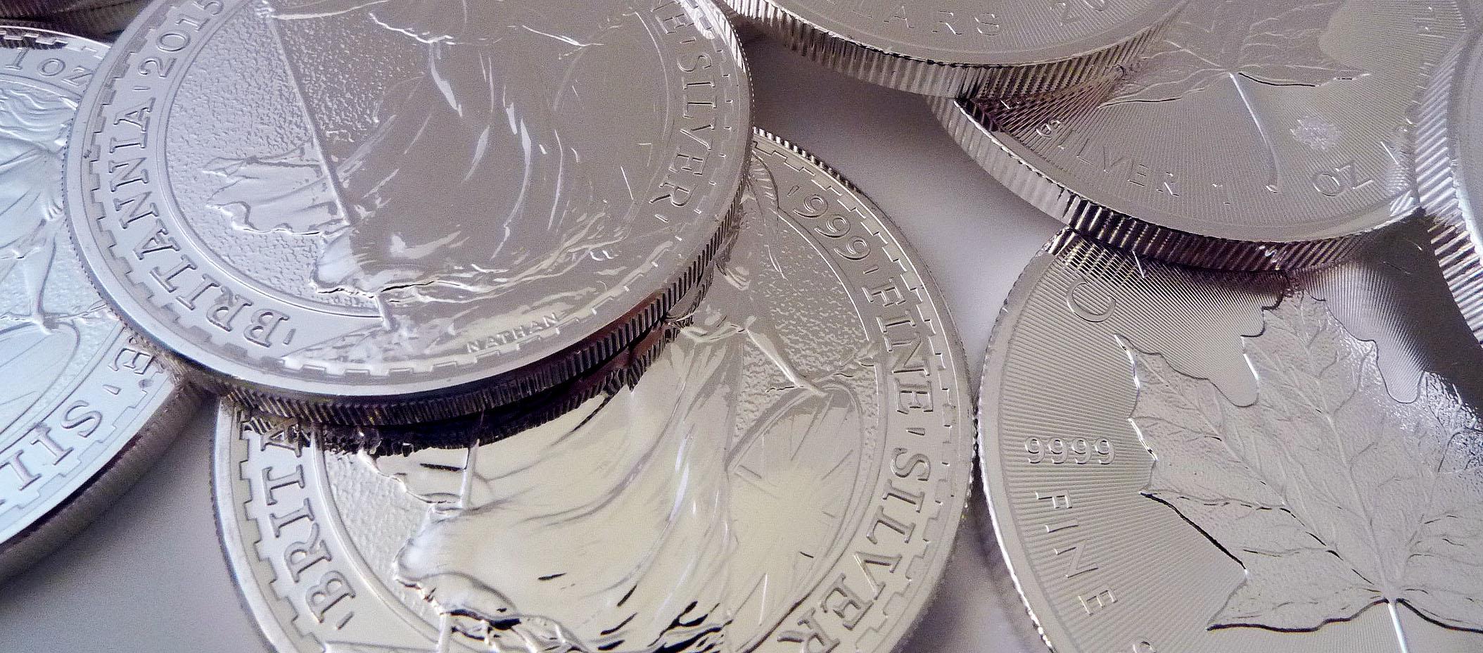 britannia 1oz silver bullion coins vat free