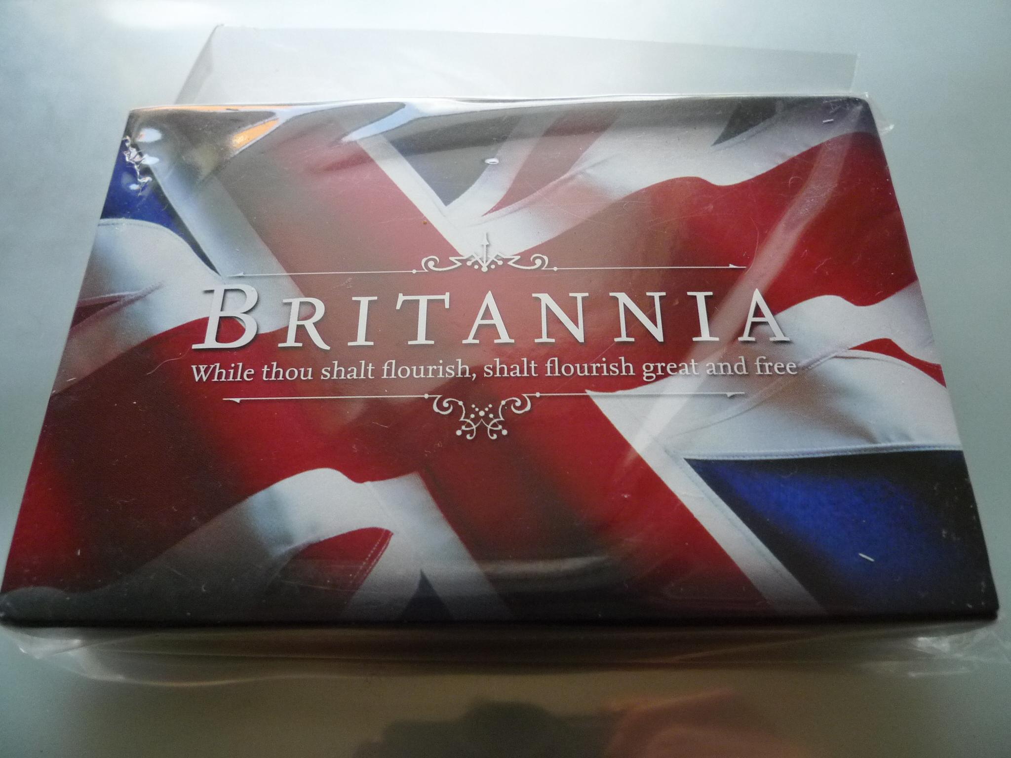 SILVER 2011  BRITANNIA 1 OZ BU MINT PACKAGING