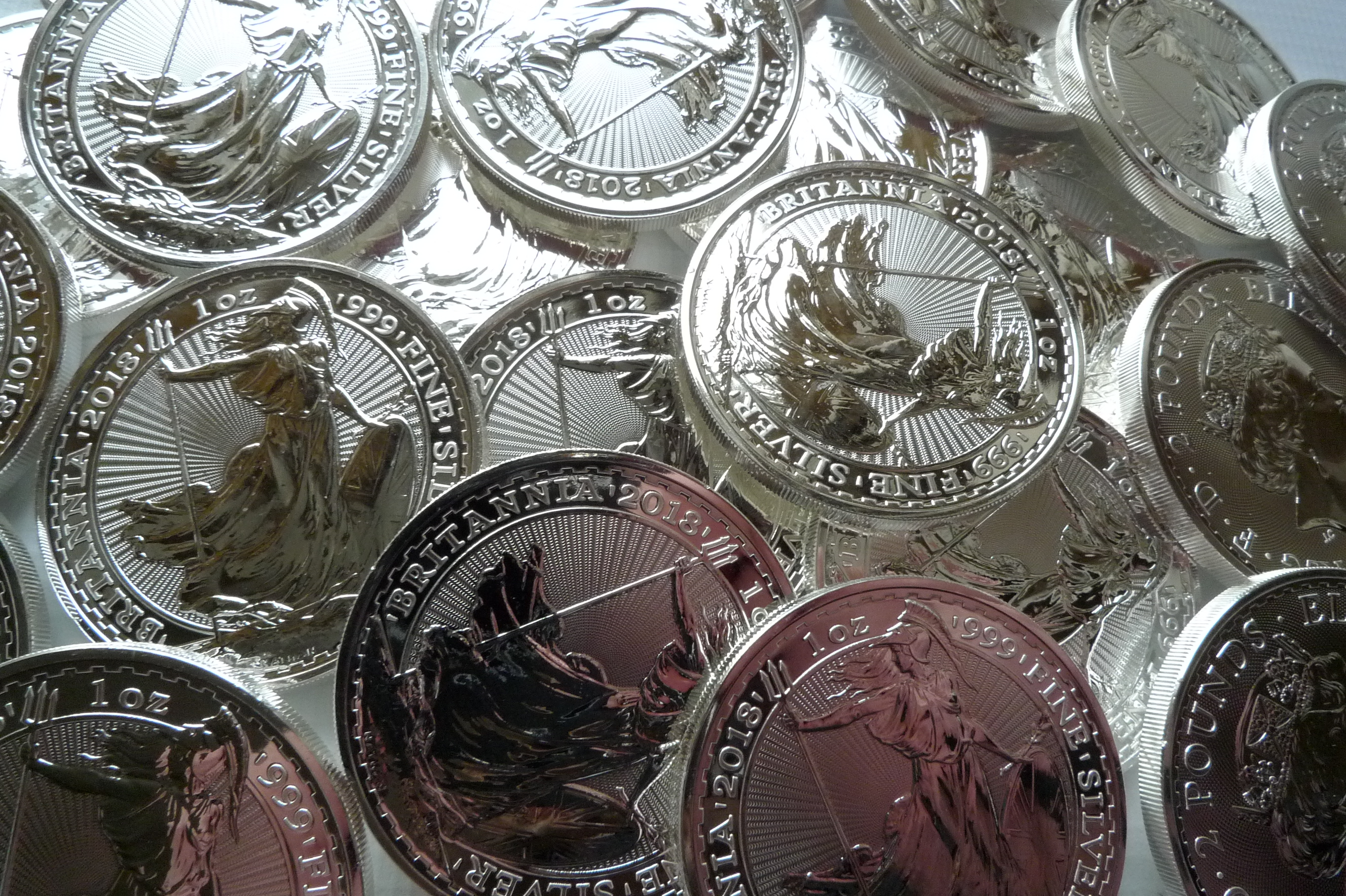 silver bullion uk coins