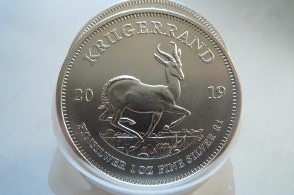 mint tube 25 ounces silver krugerrand bullion coins