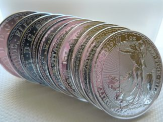silver britannia coins