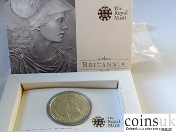 britannia uk silver collectors coin