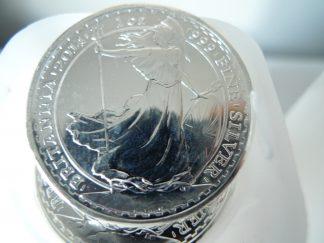 2014 Britannia 1 ounce silver coins