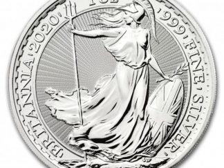 2020 britannia silver bullion coin sales