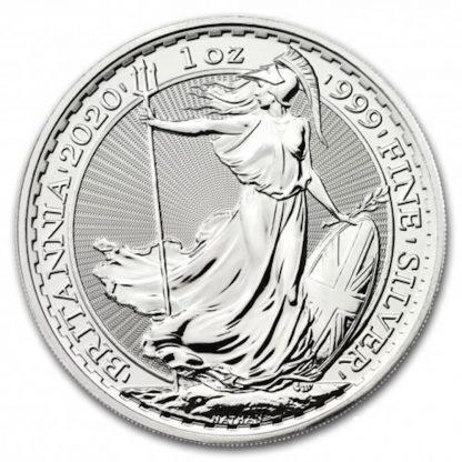 2020 britannia silver bullion coin sales