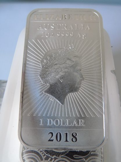 2018 perth mint silver bullion bar