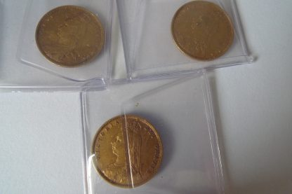 Gold half sovereign jubilee head gold coins